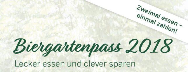 Biergartenpass 2018