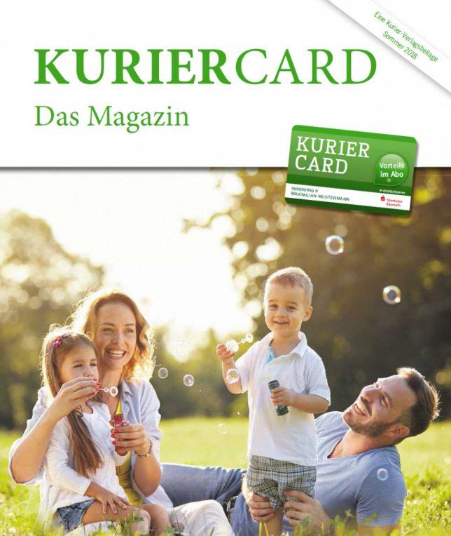 Kurier Card - Sommer 2018