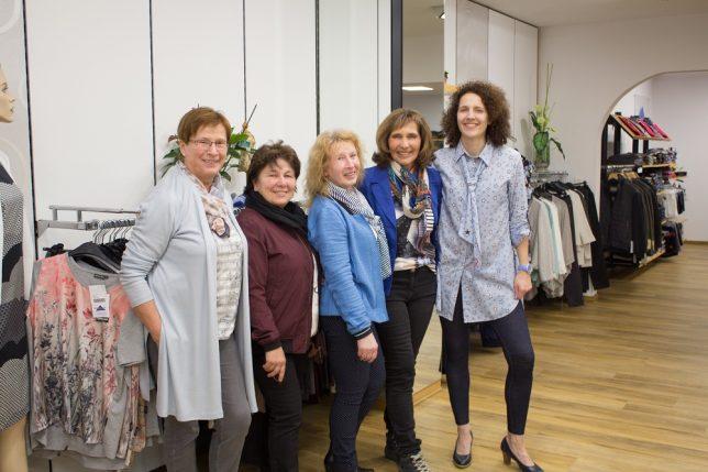 Das Team vom Modehaus Pegnitz