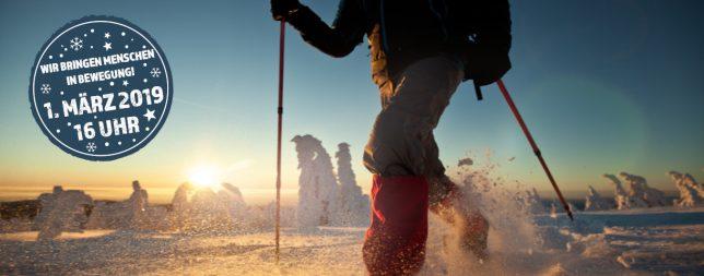 Winterspektakel Schneeschuhwanderung